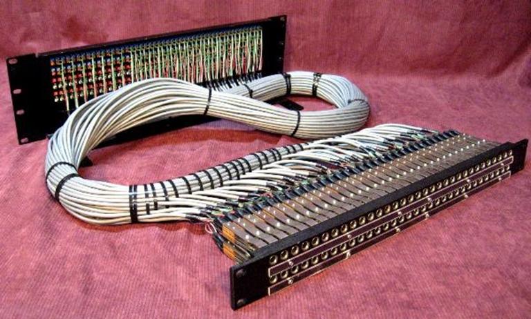 Afbeelding van Audio Accessories 64 point 1/4'' 1 RU Longframe Balanced panel