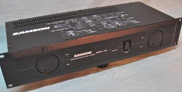 Image sur Samson Servo 170 Studio Power Amplifier