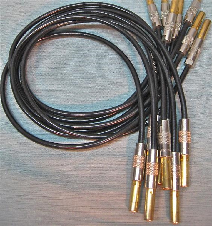 Picture of ADC Video Patch Cords 2', STD WECO size.