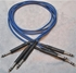 """Afbeelding van ADC 4', 1/4"""" Nickel, Blue TRS Longframe Patch Cable"""