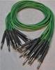 "Image de ADC 4', 1/4"" Nickel, Green TRS Longframe Patch Cable"