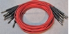 "Image de ADC 4', 1/4"" Nickel, Red TRS Longframe Patch Cable"