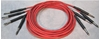"Image de ADC 6', 1/4"" Nickel, Red TRS Longframe Patch Cable"