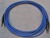 Image de ADC 6', Blue TT (Bantam) Nickel Patch Cable
