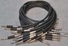 Picture of Neutrik 1.5', Black TT (Bantam) Nickel Patch Cable