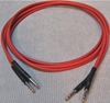 Image de ADC 6', Red TT (Bantam) Nickel Patch Cable