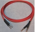 Picture of ADC 6', Red TT (Bantam) Nickel Patch Cable