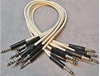 "Image de Neutrik 2', 1/4"" Nickel, White TRS StarQuad Patch Cable"