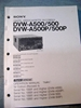 Afbeeldingen van Sony DVW-A500/500/A500P/500P Operation Manual 1st Edition (Revised 4)