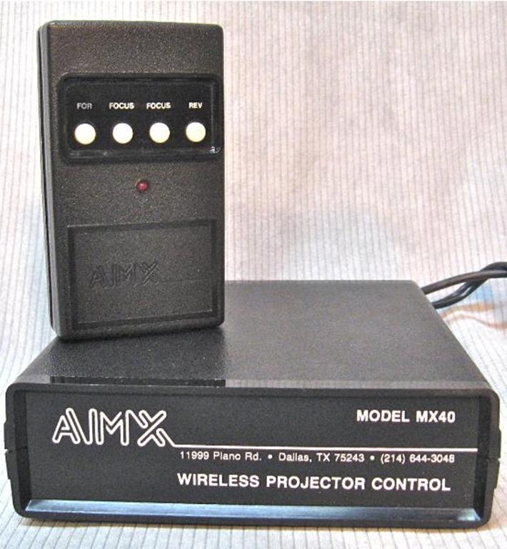 Afbeelding van AMX MX40T  Slide Projector Remote