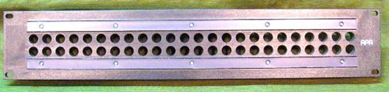 Afbeelding van Blank Patch Panels Audio Accessories 48 position