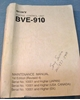 Afbeeldingen van Sony BVE-910 Maintenance Manual 1st Edition (Revised 4)