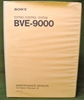 Afbeeldingen van Sony BVE-9000 Maintenance Manual 1st Edition (Revised 8)