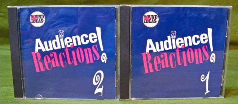 Afbeelding van Sound Ideas Sound Effects Audience Reactions 1 & 2