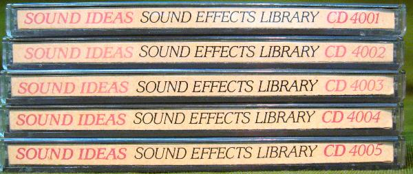 Bibb Technical Services  Sound Ideas Sound Effects Library