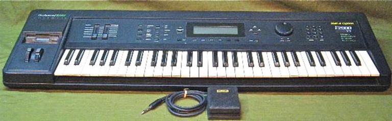 Picture of Kurzweil K2000 V3 Keyboard Synth, SMP-K