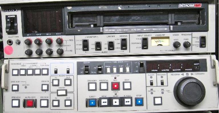 Afbeelding van SONY BVW-70 Beta SP, sn11524, Error: 96