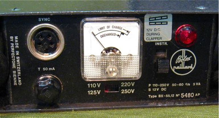 Afbeelding van Bolex Paillard BX-55 Battery