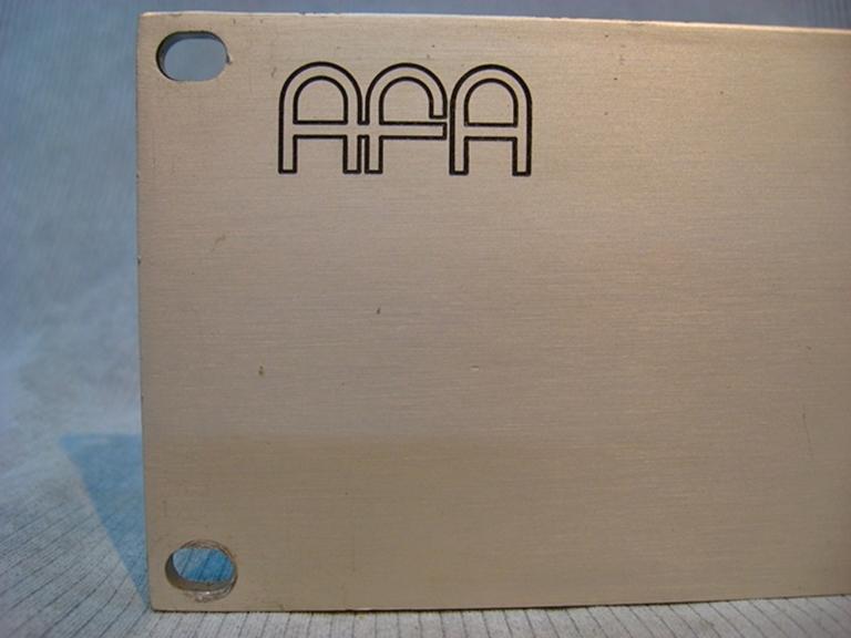Afbeelding van AFA Model VU-1S Analog Meter assembly