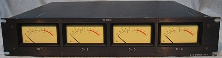 Picture of B&B Systems MP-4 Record Meter assembly: sn40215