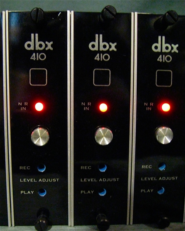 Afbeelding van DBX 158 Frame, with 410 Noise Reduction Cards