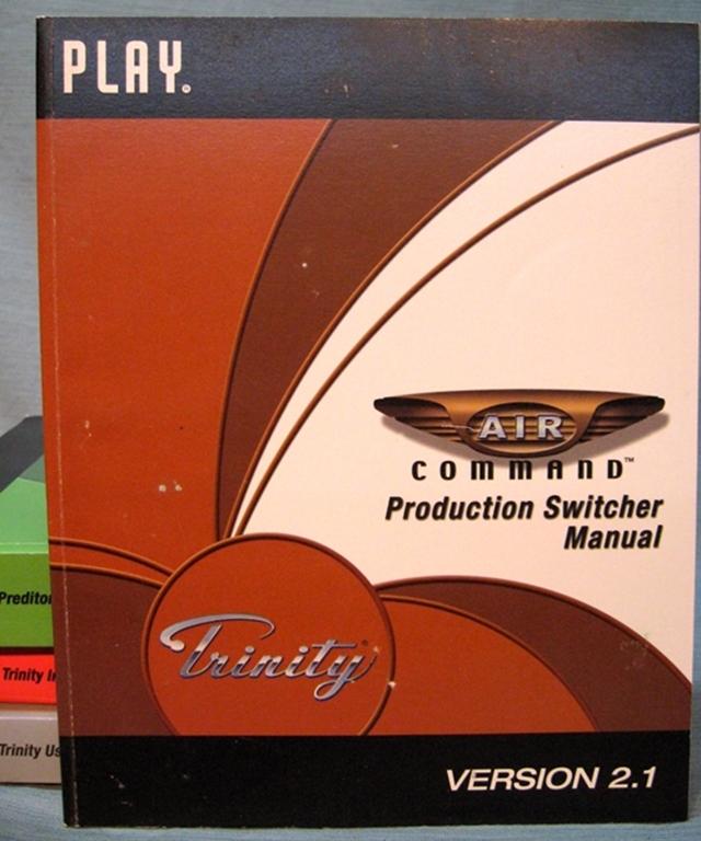 Afbeelding van Trinity  Air Command Switcher Manual, Volume 4 V 2.1