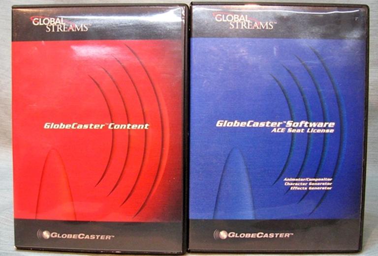 Afbeelding van GlobeCaster Software Version 2.4 NTSC