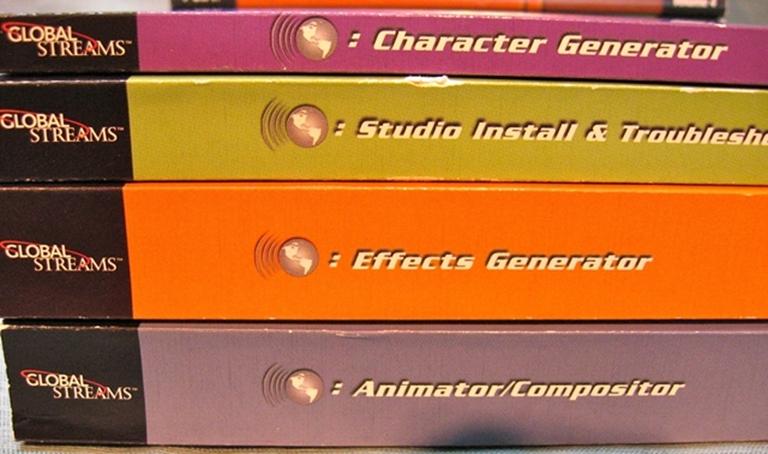 Afbeelding van GlobeCaster Manuals Set of 4