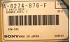 Afbeeldingen van Sony Drawer Assembly for DVW-500, pn A-8274-876-F