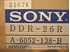 Image sur Sony D2 DDR-26R Head Assembly, NOS?