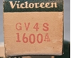 Picture of Victoreen GV4S-1600A Tube