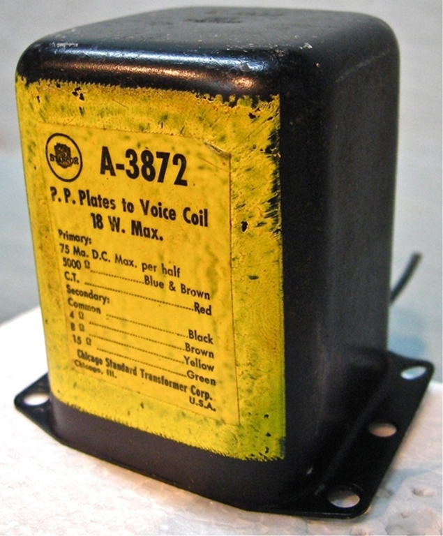 Picture of Stancor A-3872 P-P Plate Ouput Transformer