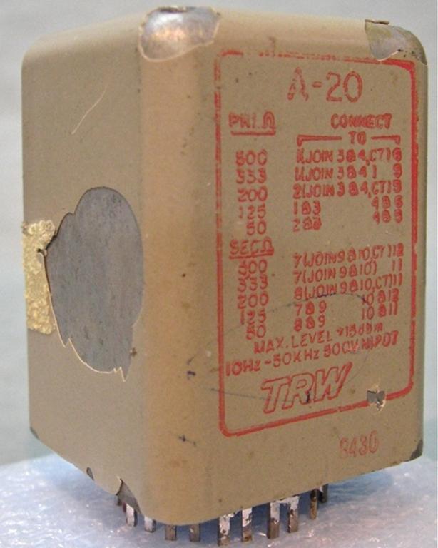 Afbeelding van UTC TRW A-20 Input Transformer, #1