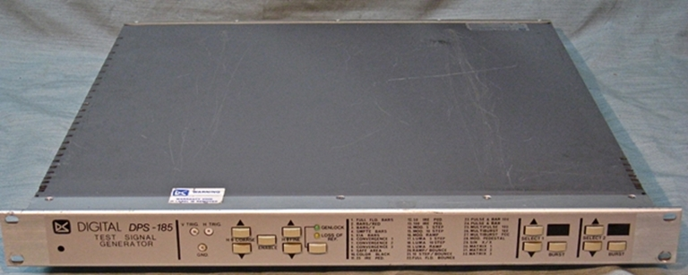 Picture of DVS DPS-185 Test Signal Generator