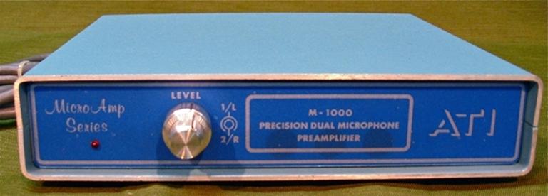 Afbeelding van ATI M-1000-1 Dual Mic Preamp