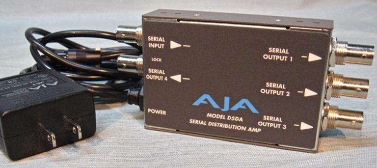 Afbeelding van AJA Model D5DA SDI DA, sn02478