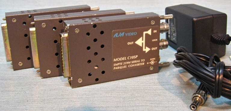 Picture of AJA Model C10SP SMPTE 259M Serial~ Parallel Transcoder