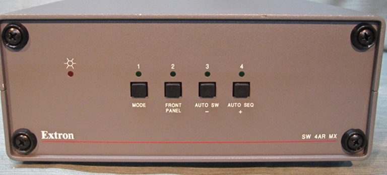 Picture of Extron SW 4AR MX, Part # 60-109-01