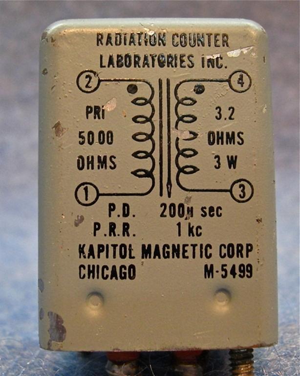 Afbeelding van Kapitol Magnetic Corp M-5499