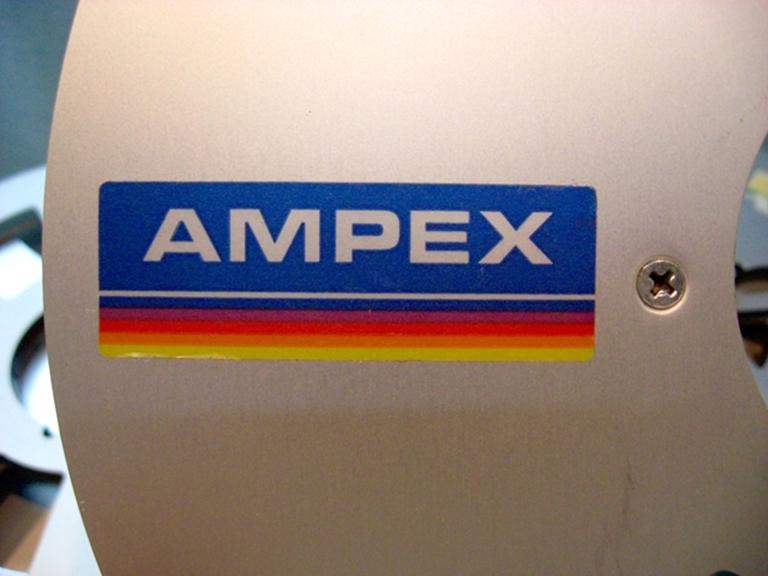 "Image sur Ampex 10"" x .25"" Empty Reel, 456 Rainbow Label"