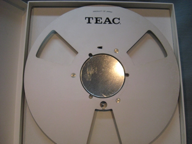 "Picture of TEAC 10""x.25"" Reel,RE-1002, Boxed USED"