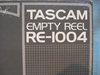 "Afbeeldingen van Tascam 10""x.25"" Reel,RE-1004, Boxed USED"