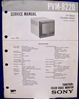 Picture of Sony PVM-8220 Service Manual