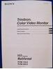 Image de Sony PVM 20L5 Operating Manual
