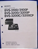 Afbeeldingen van Sony BVS-3100 Operation Manual,1st Ed Rev 2.