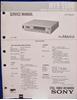 Afbeeldingen van Sony MVR-5500 Service Manual