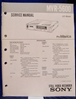 Afbeeldingen van Sony MVR-5600 Service Manual pn 9-975-708-01.