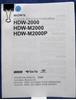 Afbeeldingen van Sony HDW-2000/M2000/M2000P Operation Manual 1st Edition (Revised 4)