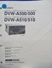 Picture of Sony DVW-A500/500 DVW-A510/510 Installation Manual 1st Edition