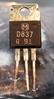 Afbeeldingen van Panasonic 2SD837Q Transistors, NOS, 100/bag